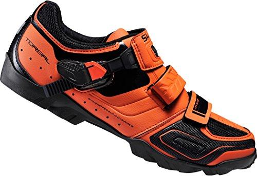shimano-sh-m089o-shoe-orange-size-44-2016-mountain-bike-cycle-shoes