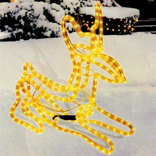Rentier Form Lichtschlauch-Figur in 3D ca. 6 m Schlauch