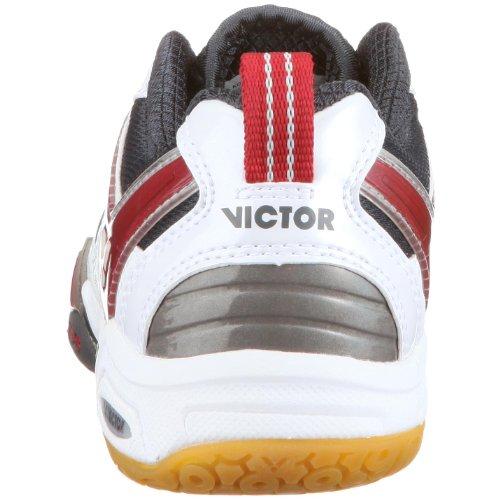 VICTOR 823 VICTOR LSS 9600, Unisex - Erwachsene Sportschuhe - Indoor Weiss/White/Red/Black