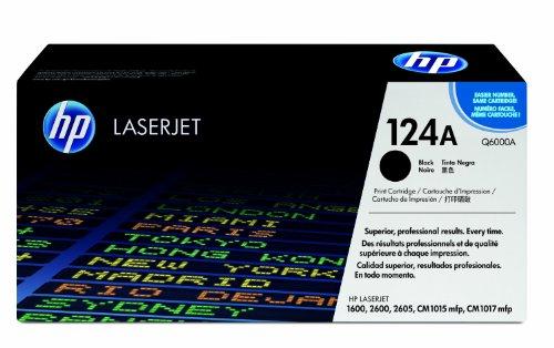 Preisvergleich Produktbild HP Toner (rebuilt, kein Original aber 100 % kompatibel) ersetzt Originalkartusche : Q6000Afür HP® Color LaserJet® 1600, 2600, 2605, CM 1015, 1017, black / 2 Jahre Garantie /