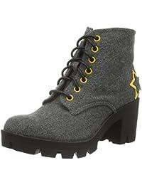 Fiorucci Damen Fdil043 Combat Boots