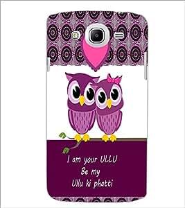 PrintDhaba Loving Owls D-3978 Back Case Cover for SAMSUNG GALAXY MEGA 5.8 (Multi-Coloured)