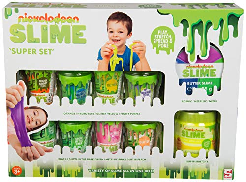 Nickelodeon Slime SLM-3331 Super 12 Stück, Multi