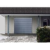 Roll portería, enrollables, garaje, garaje 3040X 3040mm, sektional, puertas de RAL7016––Puerta, Seccionales., antracita gris