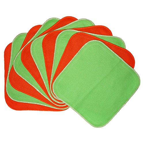 planet-wise-flannel-wipes-lime-tangerine