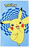 CTI 042306 Badetuch Pokemon Pikachu, Baumwolle Velours, 70 x 120 cm