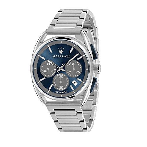 MASERATI Orologio Cronografo Quarzo Uomo con Cinturino in Acciaio Inox R8873632004