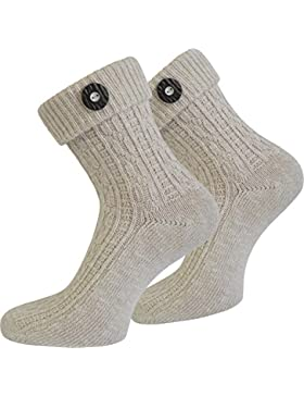 Leinen Socken Kniebundstrumpf Trachtensocken