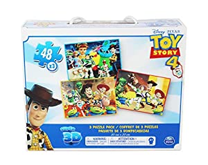 Cardinal Games Toy Story 4 Super 3D Puzzle, Multicolor (Spin Master Toys Ltd 6052966)