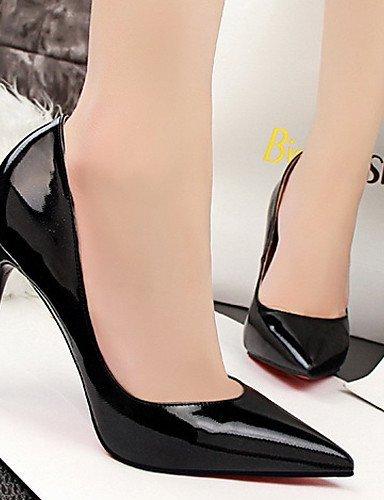 ShangYi Chaussures Femme - Mariage / Habillé - Noir / Rose / Rouge / Argent / Or / Bordeaux - Talon Aiguille - Talons - Talons - Similicuir Pink