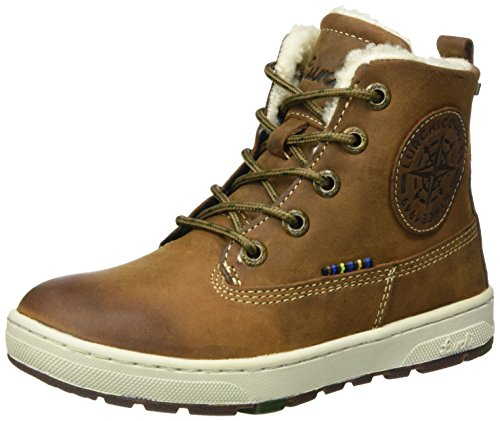 Lurchi Jungen Doug-TEX Combat Boots, Braun (Tan Tabacco 47), 38 EU