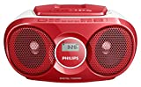 Best Cd Player For Kids - Philips AZ215R Portable CD Player with Radio, Jack Review