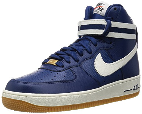 d4b99ee517f89 Nike 315121-410 Mens Air Force 1 High 07 Blue 42 - Best Price in ...
