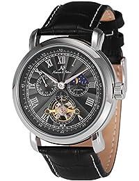 KS KS222 - Reloj Hombre Mecánico de Cuero