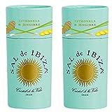 Sal de Ibiza - Meersalz mit Zitronengras & Ingwer - 2 x 100 gr