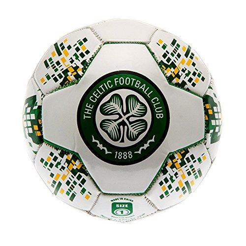 Celtic-FC-Official-Mini-Nova-Football-One-Size-WhiteGreen