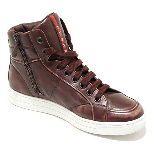 1572G sneaker alta bordeaux PRADA SPORT scarpa uomo shoes men Bordeaux