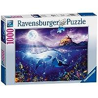 Ravensburger-19791-Wale-Im-Mondschein-Puzzle Ravensburger 19791 Wale Im Mondschein Puzzle - Start -