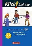 Klick! inklusiv: 5./6. Schuljahr - Geometrische Grundbegriffe: Arbeitsheft 4