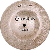 "Turkish Cymbals Rock Beat Raw Cymbale Big Bell 9"""