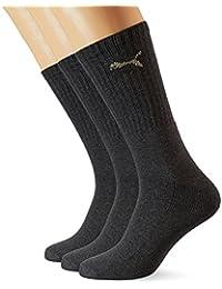 Puma Sport - Chaussettes de Sport - Lot de 3 - À Logo - Homme