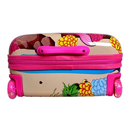 Karry Meerjungfrau Kinderkoffer - 7
