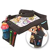 Sedile per bambini snack N Play Auto Set vassoio e borsa da viaggio da supa-dupa. Kids Travel Play, adatto per la maggior parte dei bambini & Toddler Carseats + (bonus Carry Bag)