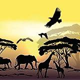 Serviette Ambiente Motiv : AFRIKA SAFARI 20 Servietten pro Packung