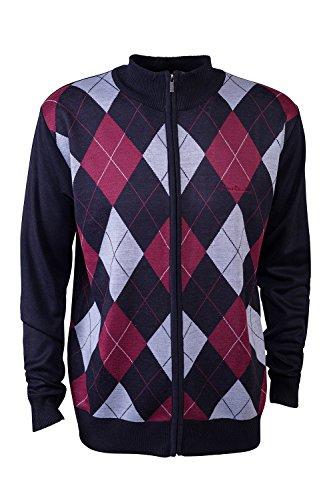 pierre-cardin-mens-new-season-zip-through-argyle-knitted-cardigan-xl-navy-burgundy