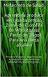 Mi secreto de salud es el consumo del zumo de wheatgrass ( Clorofila pura) En este libro guia te  enseño como cultivar tu propio wheatgrass, como consumirlo y te doy una receta para que lo bebas en ayuna como un suplemento alimenticio el cual te apor...