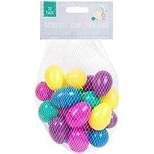 25 Surtido Surtido Surtido De Plástico Surtido Huevos Para Pascua