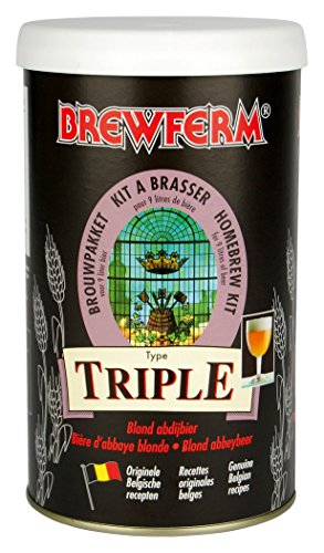 Radis et Capucine 030658 DIY Extrait Malt Bière Blonde Triple pour Brassage Multicolore 10 x 10 x 18 cm 9 L