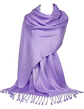 GFM Mujer Pashmina estilo bufanda de abrigo (B9)