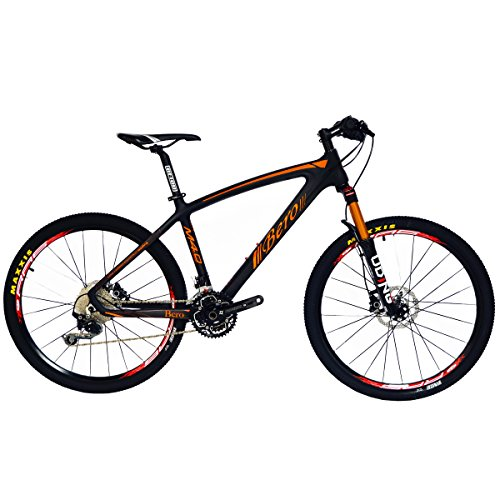 51xlJBlLgOL. SS500  - BEIOU® Hardtail Mountain Bike SHIMANO M610 DEORE 30 Speed Toray T800 Carbon Fiber MTB 10.65 kg Ultralight Frame RT 26-Inch Wheels CB024