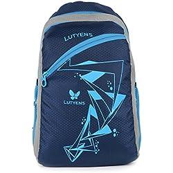 Lutyens Blue Polyester School Bag (21 Litre) (Lutyens_267)