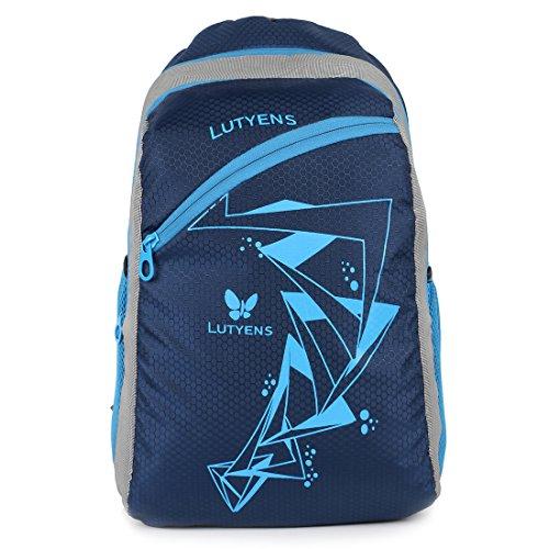 Lutyens Blue 26 Ltr Polyester School Backpack