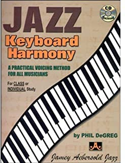 Jazz Keyboard Harmony: A Practical Voicing Method for All Musicians, Spiral-Bound Book & CD (1562240692) | Amazon Products