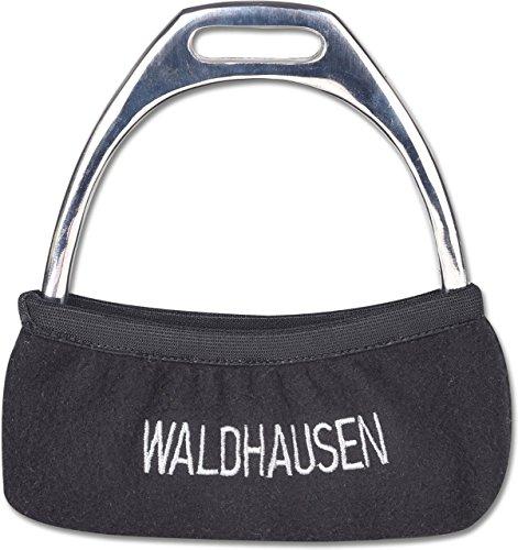 Waldhausen Steigbügelhülle, schwarz, Einheitsgröße