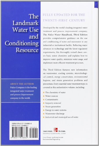 The Nalco Water Handbook, Third Edition (Nalco Energy Chemical Company)
