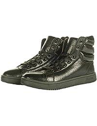 HKM–Metálico Zapatos de plástico, negro, Schuhgrösse 35