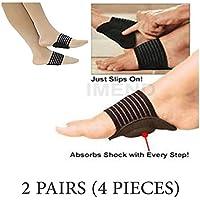 pedimend 2Paar Plantarfasziitis Arch Support–Fuß Massagegerät–Ferse Schmerzen Hilfe–Orthopädische Fuß Kissen... preisvergleich bei billige-tabletten.eu