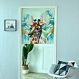 GneatFun Lovely Giraffe Tür Fenster Zimmer Sheer Vorhang Tuch 1Panel Schal Volants Breit Breite Gaze Vorhang Wohnzimmern decorative31.50* 100cm, Single Panel