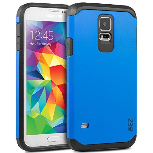 Cover SamsungGalaxyS5, BEZ CustodiaGalaxyS5 Rigida, Cover Posteriore Rigida Protettiva Custodia Per Samsung S5 [Antiurto, Assorbimento-Urto] - Blu Navy