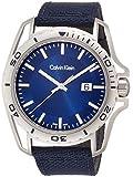 Calvin Klein Hombre Reloj de pulsera analógico cuarzo textil k5y31uvn