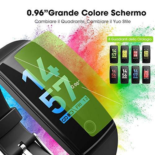 Zoom IMG-1 mpows smartwatch impermeabile orologio fitness