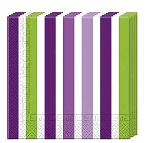 Procos- Servilletas de papel de 3 capas, 33 x 33 cm, 20 unidades, multicolor, PR80763