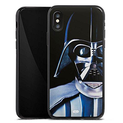 Apple iPhone 8 Hülle Case Handyhülle Star Wars Merchandise Fanartikel Lord Vader Silikon Case schwarz