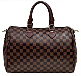 Best Louis Vuitton Bags - Gossip Girl - Designer Check Barrel Bowling Boston Review