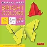 Origami Paper - Bright Colors - 6