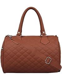 Anekaant Duvet Tan PU Handbag